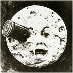 A Trip To The Moon magician photo 1930 Georges Melies
